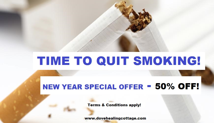 Recapture your health and wellbeing by availing of our Quit Smoking Special New Year Offer!  Terms and conditions apply. 0833632252